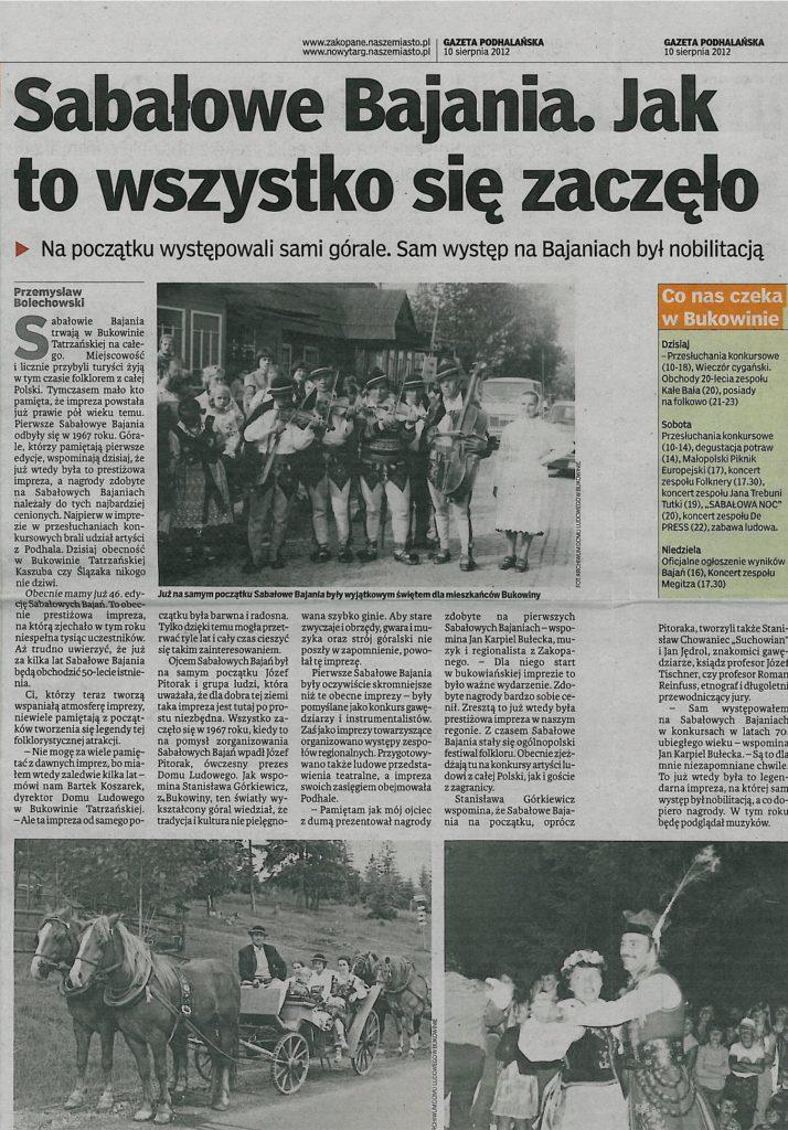 wspomnieniagazetapodhalanska2012